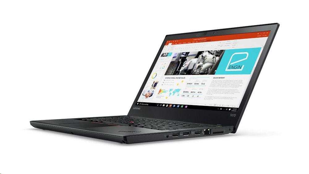 """Lenovo ThinkPad T470 i7-7500U/8GB/512GB SSD/HD Graphics 620/14""""FHD IPS/4G/Win10PRO/Black"""