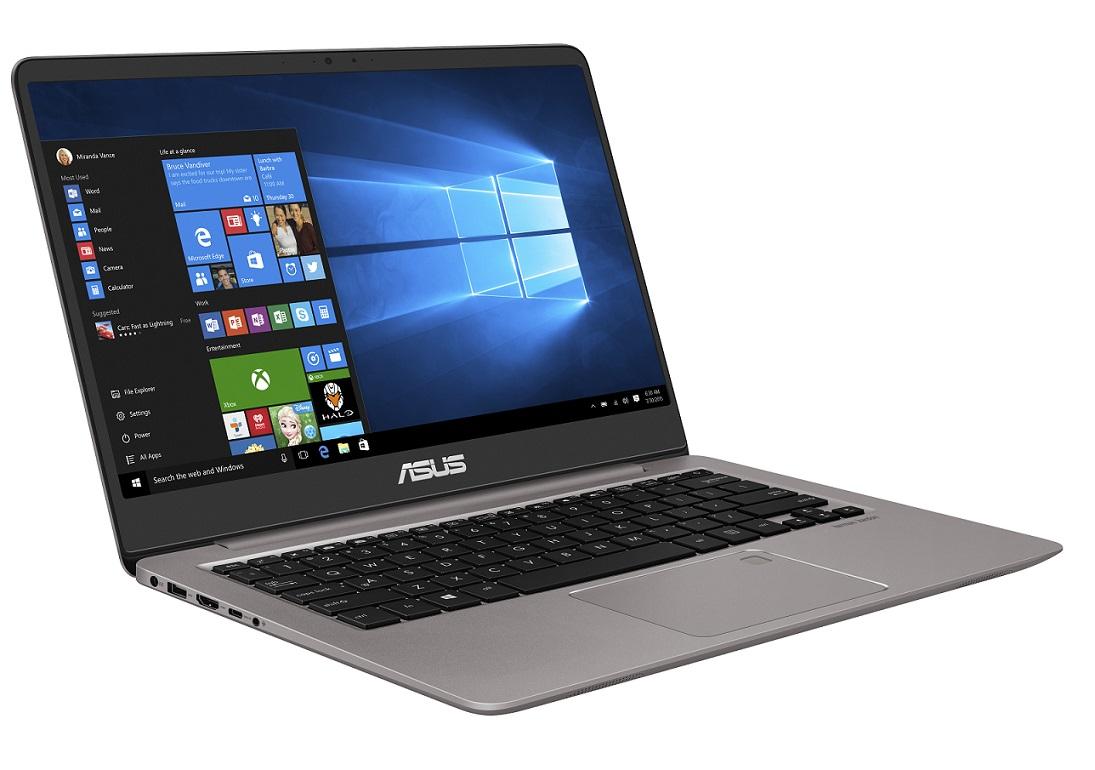 "ASUS UX410UA-GV151T i3-7100U/4GB/256GB SSD M.2/HD graphics/14"" FHD LED matný/W10 Home/Grey"