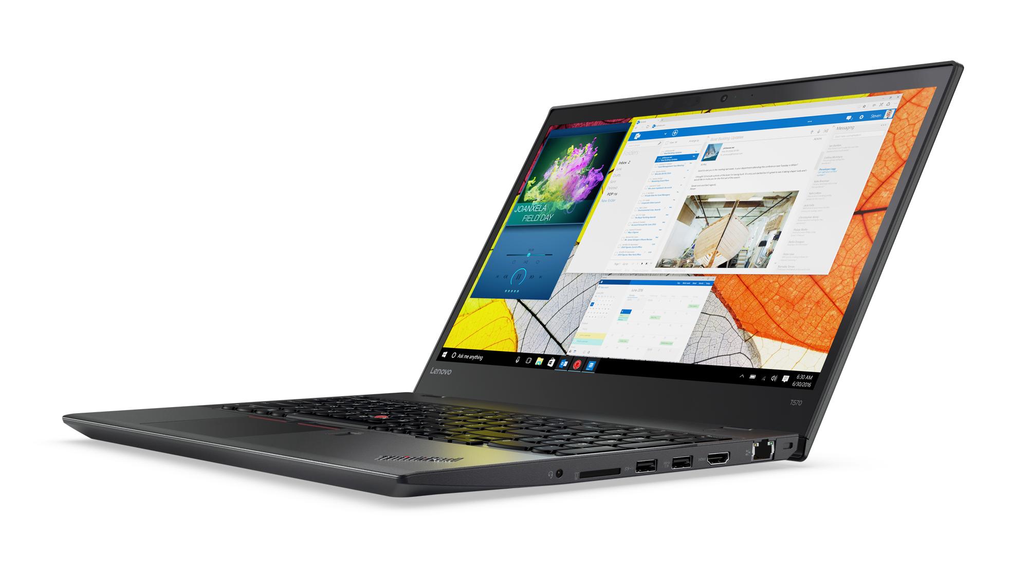 """Lenovo ThinkPad T570 i7-7500U/16GB/512GB SSD/HD Graphics 620/15,6"""" UHD IPS/4G/Win10PRO/black"""