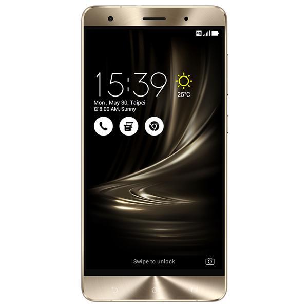 ASUS Zenfone 3 Deluxe ZS570KL MSM8996/64G/6G/A6.0 zlatý