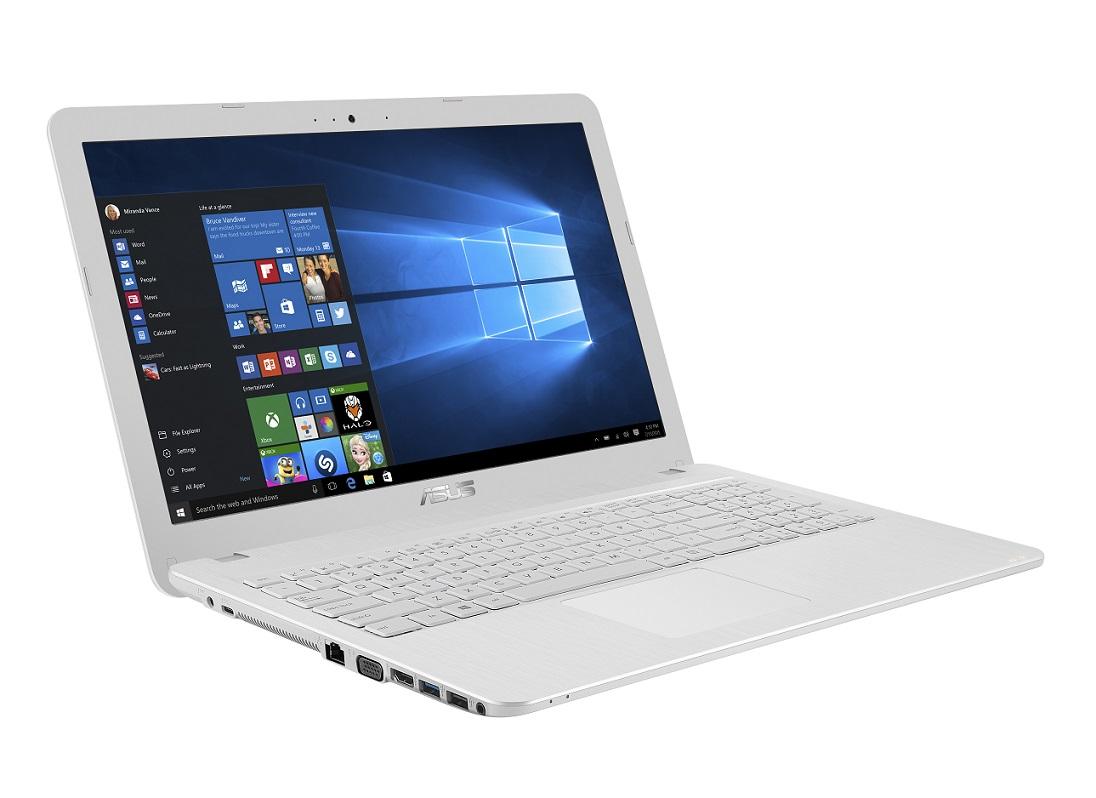 """ASUS F540SA-DM697T Pentium N3710/4GB/128GB SSD/DVDRW/Share Graphics/15.6"""" FHD LED matný/W10 Home/White"""