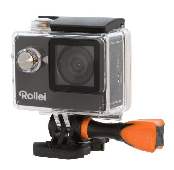 Rollei ActionCam 350 - 4K video 10 fps/ 1080/30 fps/ 140°/ 40m pzd./ Wi-Fi/ Černá