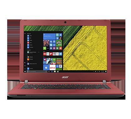 Acer Aspire ES14 14/N3350/4GB/32GB/W10 červený