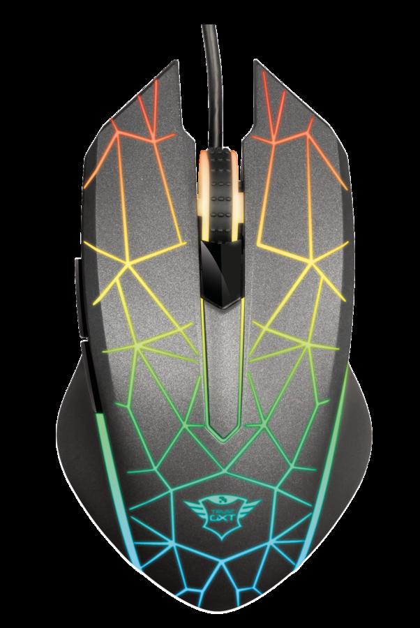 myš TRUST GXT GXT 170 Heron RGB Mouse