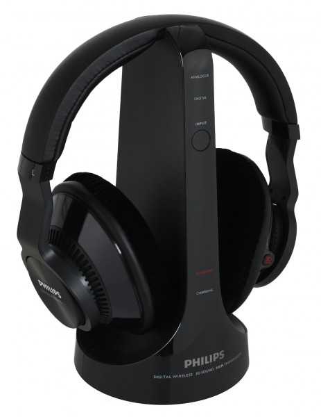 Sluchátka Philips SHD9200 bezdrátová černá