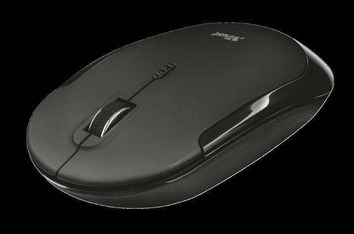 myš TRUST Mute Silent Click Wireless Mouse (tichá myš)
