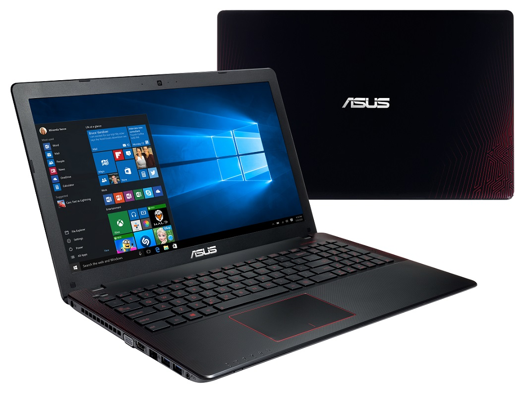 "ASUS F550VX-DM588T i5-7300HQ/8GB/1TB 7200 ot./DVDRW/GeForce GTX 950M/15.6"" FHD LED matný/W10 Home/Black"