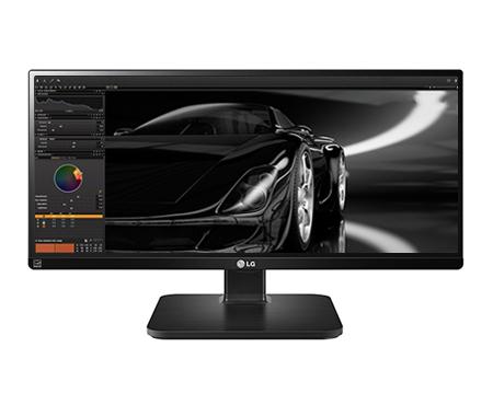 "LG 25UB55-B.AEU 25"" IPS ultrawide 21:9/2560x1080/5M:1/250cd/5ms/2xHDMI/DVI-D/Display port/Repro/Pivot"