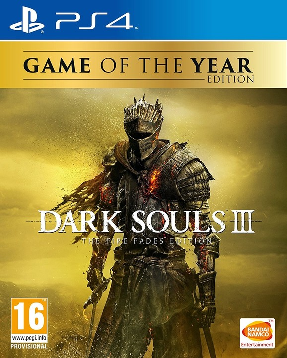 PS4 - Dark Souls 3: The Fire Fades Edition GOTY