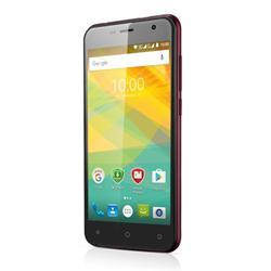 "PRESTIGIO MultiPhone Muze B3 - 3512 DUO, 5""IPS 2.5D, DualSIM, Android 6, QC 1,3GHz, 1GB RAM, 8GB ROM, 8+2Mpx, vínová"