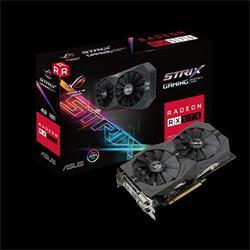 ASUS ROG-STRIX-RX570-4G-GAMING 4GB/256-bit, GDDR5, 2xDVI, HDMI, DP