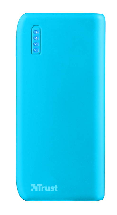 TRUST Primo PowerBank 4400 - neon blue