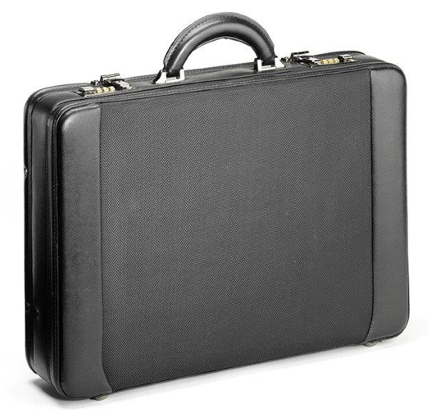 Falcon Laptop Attache Case Black 15,6""