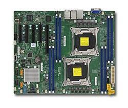 SUPERMICRO MB 2xLGA2011-3, iC612 8x DDR4 ECC,10xSATA3,(PCI-E 3.0/1,2,1(x16,x8,x4)PCI-E 2.0/1(x4),2x LAN,IPMI