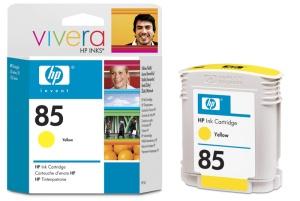 HP no 85 - žlutý ink - dye, C9427A
