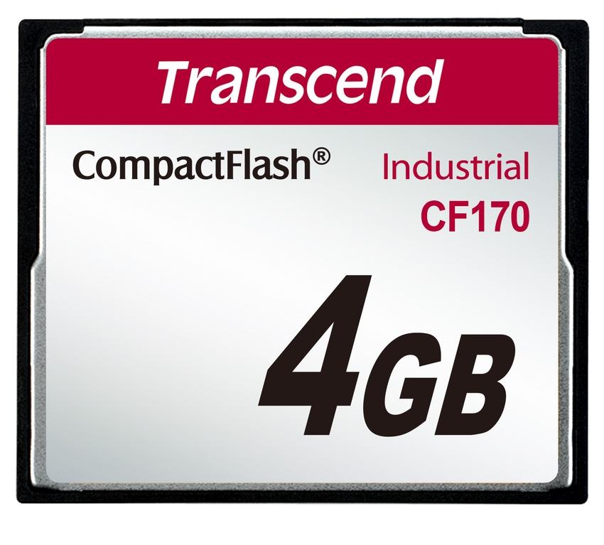 Transcend Compact Flash karta4GB High Speed CF170