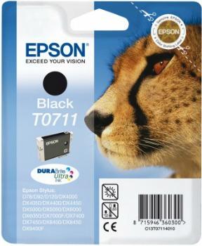 Inkoust Epson T0711 black DURABrite | Stylus D78/92/120/DX4000/4050/4400/4450/50