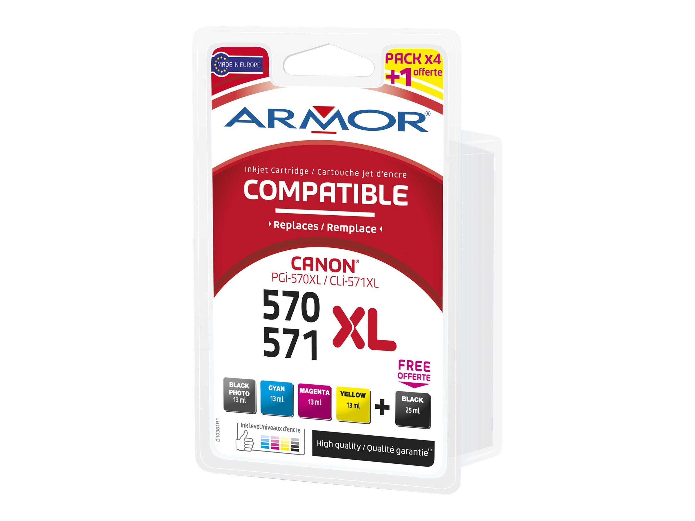 Armor multipack pro Canon PGI570BK/CLI-571 XLBKCMY