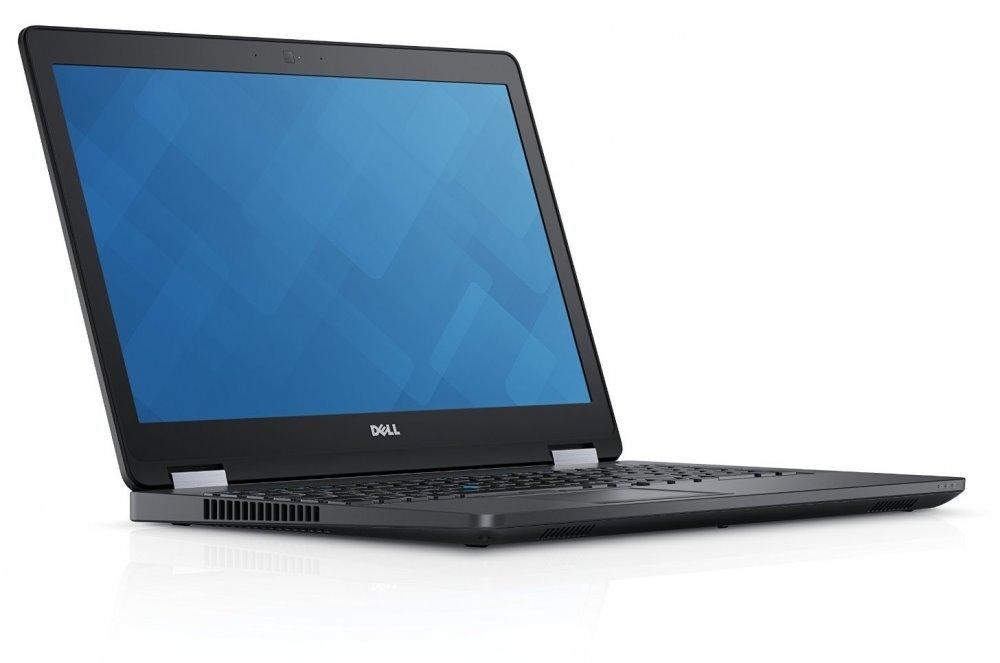 """DELL Latitude E5570/i5-6300HQ/8GB/128GB SSD/Intel HD520/15.6"""" FHD/Win 10Pro/Black"""