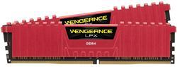 Corsair DDR4 16GB (Kit 2x8GB) Vengeance LPX DIMM 3200MHz CL16 červená