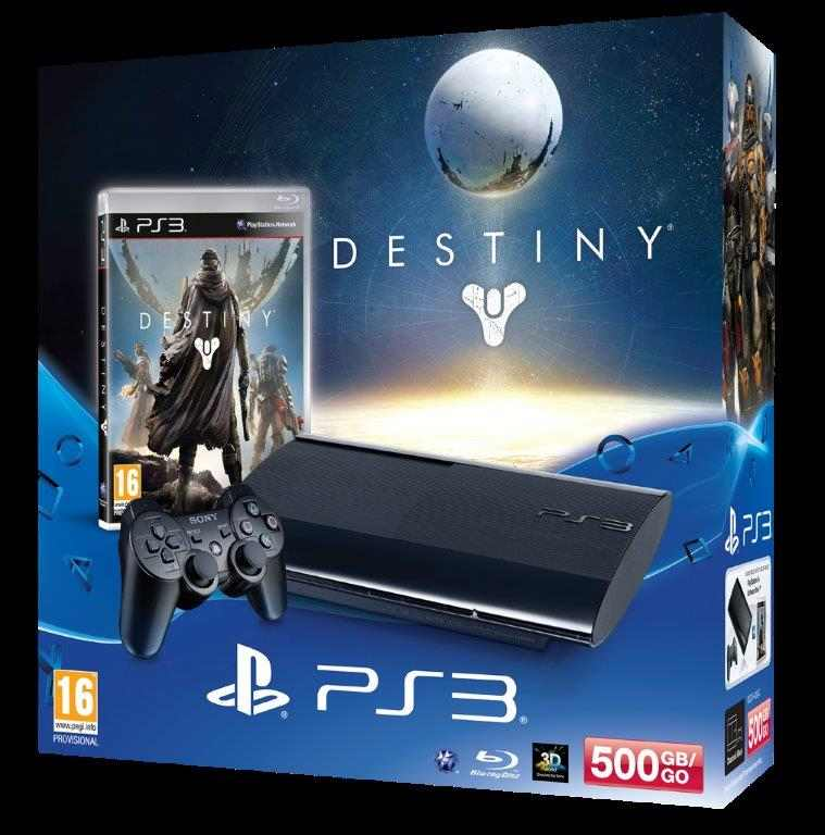 SONY PlayStation 3 - 500GB + Destiny