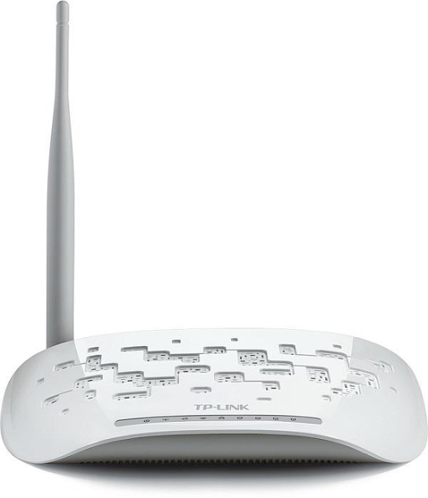 TP-Link TD-W8951NB, 802.11n/150Mbps ADSL2+ Modem Router AnnexB, 4xLAN, Trendchip