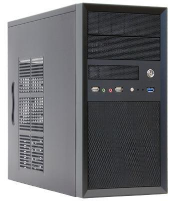 Chieftec PC skříň Mesh CT-01B, mATX, zdroj 350W