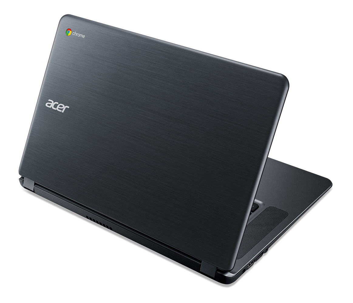 "Acer Chromebook 15 (CB3-532-C32V) Celeron N3160/4GB+N/eMMC 32GB+N/A/HD Graphics/15.6"" FHD LED matný/BT/Google Chrome/Gray"