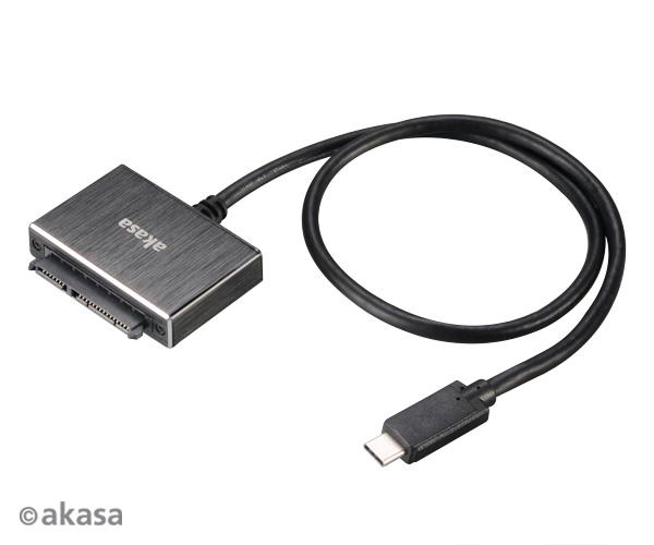 "AKASA USB 3.1 adaptér pro 2,5"" HDD a SSD - 60 cm"
