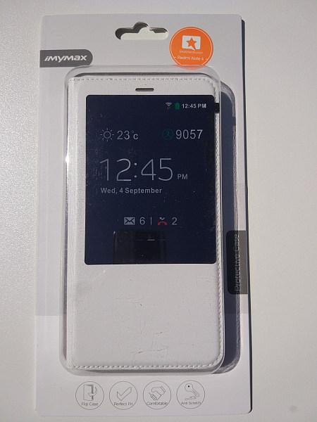 Flip case pro Redmi Note 4 White