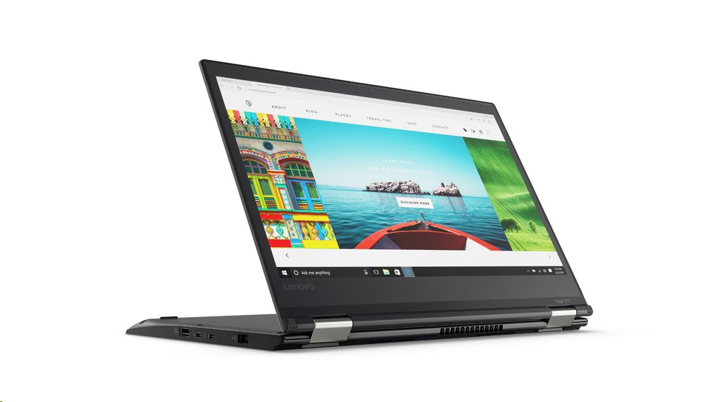 "Lenovo ThinkPad YOGA 370 i5-7200U/8GB/512GB SSD/HD Graphics 620/13,3""FHD IPS multitouch/4G/Win10PRO/Black"