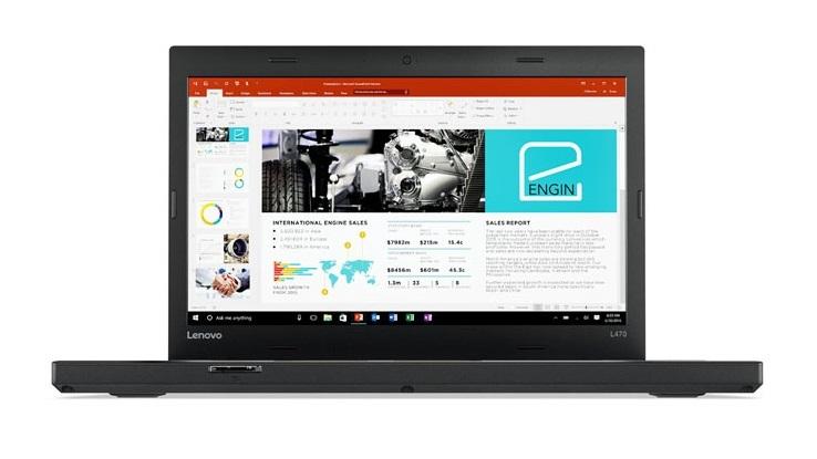 """Lenovo ThinkPad L470 i3-7100U/8GB/180GB SSD/HD Graphics 620/14""""FHD IPS/W10PRO/Black"""