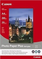 Papír Canon SG201 Photo Paper Plus Semi-glossy | 260g | 20x25cm | 20 listů