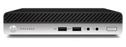 HP ProDesk 400 G3 DM, G4560T, Intel HD, 4 GB, 500 GB, W10Pro, 1y