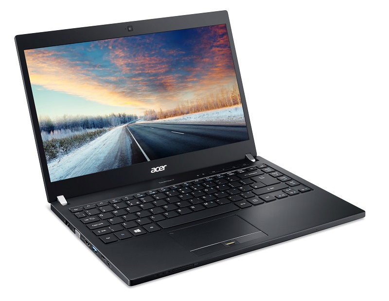 "Acer TMP648-M-55W2/i5-6200U/4GB+4GB/256GB SSD/14""FHD LCD/Win7Pro+Win10Pro/Carbon Fiber"
