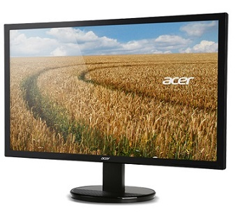"Acer LCD K242HLbd 24"" LED, 1920 x 1080, 100M:1, 250cd/m2, 5ms, DVI, Black SLIM Design"