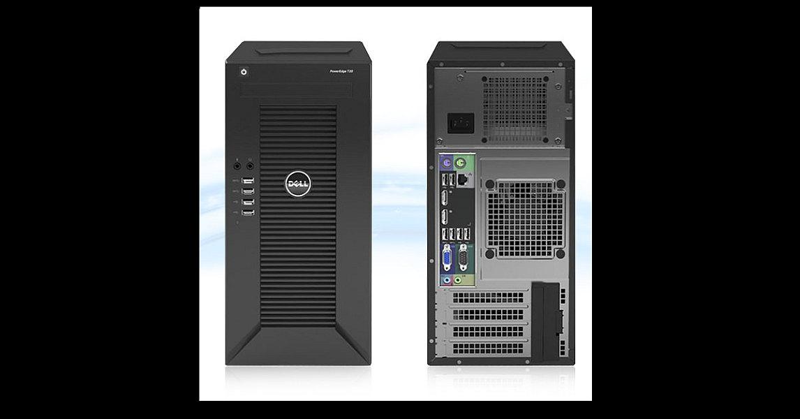 DELL PE T30/E3-1225v5/8GB/1x1TB SATA/DRW/1xGL/1x290W
