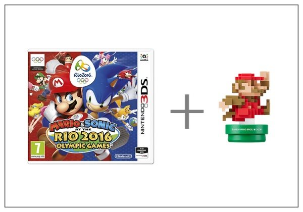 Nintendo 3DS Mario & Sonic at the Rio 2016 + Classic amiibo