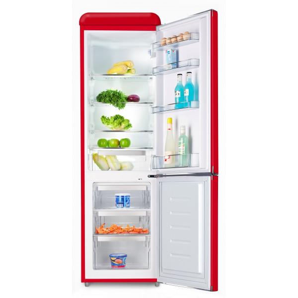 Kombinovaná chladnička Schaub Lorenz SL250FR červená