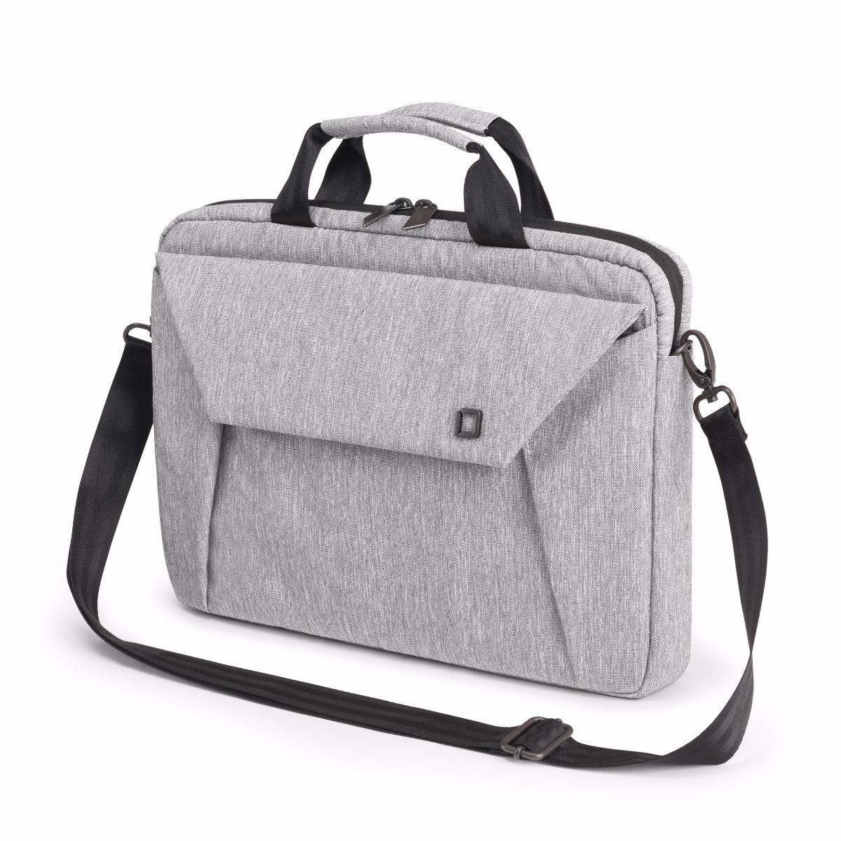 Dicota Slim Case EDGE 12-13.3 light grey