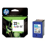 HP 22XL Tri-color Ink Cart, 11 ml, C9352CE