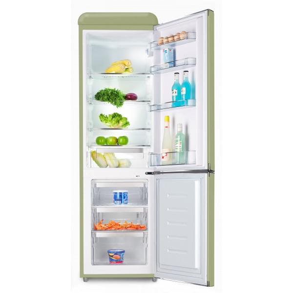 Kombinovaná chladnička Schaub Lorenz SL250 SG zelená