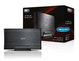 Externí box Sweex 3,5''; SATA II; USB 3.0