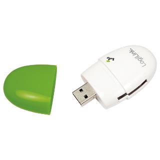 LOGILINK - Čtečka karet USB 2.0 Stick zelené