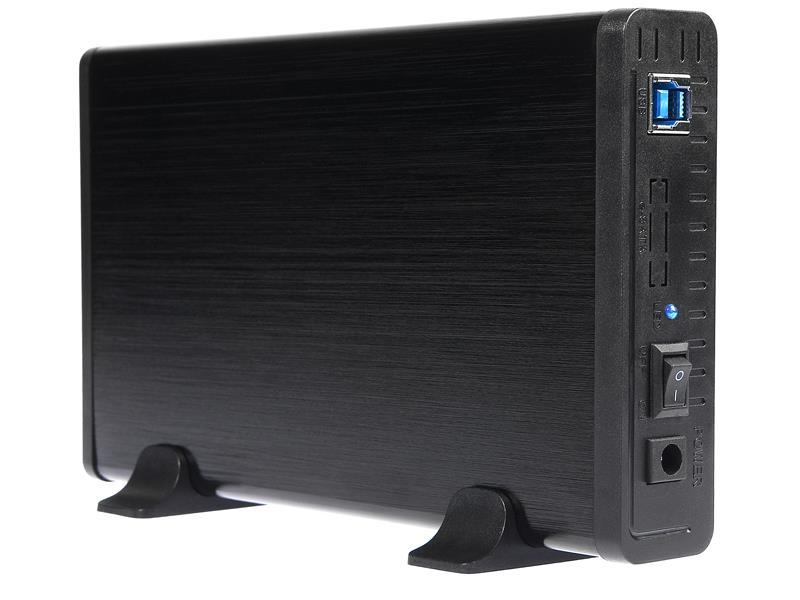 Tracer 731 AL externí box pro HDD 3.5'' ATA/SATA, USB 2.0, hliníkový