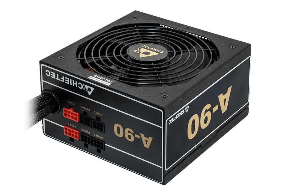 CHIEFTEC zdroj A90 Series, GDP-750C, 750W, ATX-12V V.2.3/EPS-12V, PS-2, 14cm fan, >90%