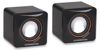 MANHATTAN Reproduktory 2.0 2600 Series Speaker System, USB napájení