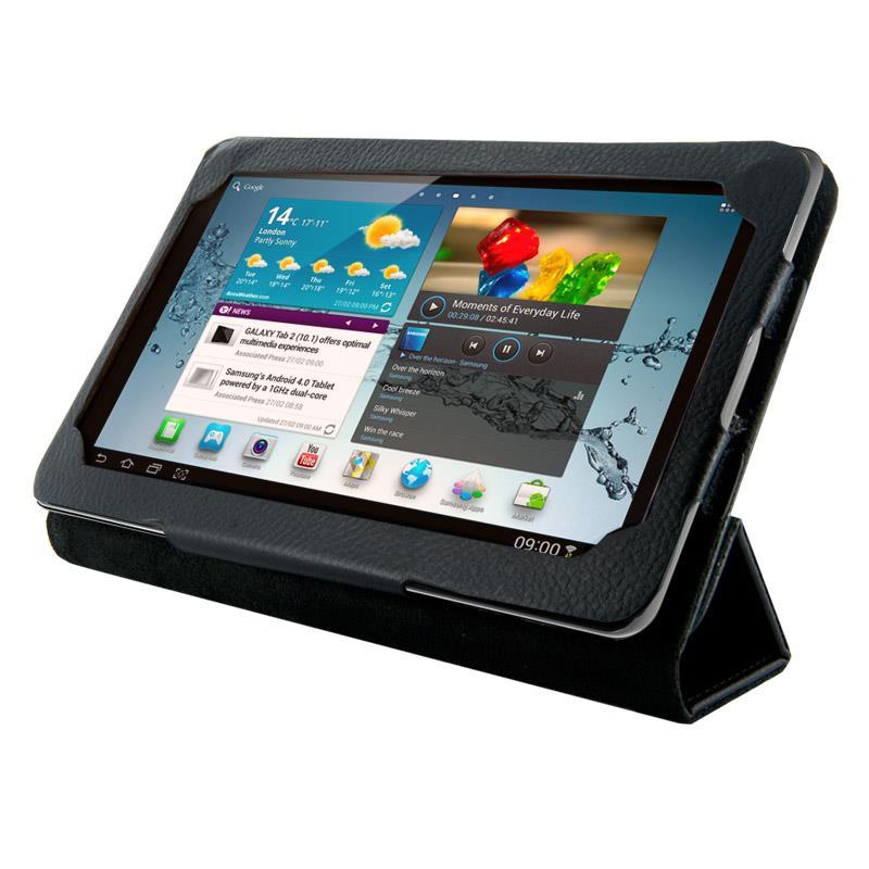 4World Pouzdro - stojan pro Galaxy Tab 2, Folded Case, 7'', černý