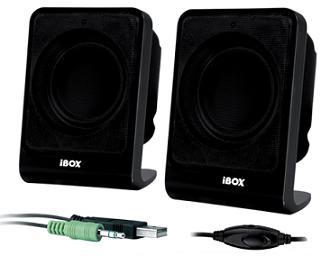 I-BOX ROME 2.0 reproduktory, černé