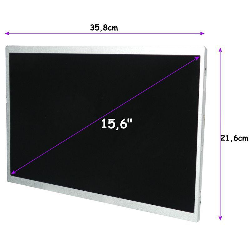 Qoltec LED 15.6'' 1366*768 GLOSSY Slim - 30Pin, GRADE A+